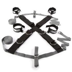 Крестообразная ременная система для фиксации к кровати Fifty Shades of Grey Замри