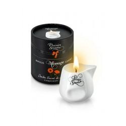 Массажная свеча Plaisirs Secrets с Цветочным ароматом 80 мл