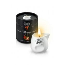 Массажная свеча Plaisirs Secrets Гранатовая 80 мл