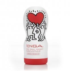 Мастурбатор Tenga Keith Haring Deep Throat Cup