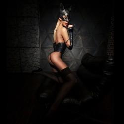 Эротический костюм кошечки D&A Игривая Стефани XS/S