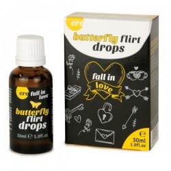 Возбуждающие капли для двоих Hot Ero Butterfly Flirt Drops 30 мл